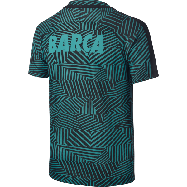 Nike Barcelona Junior Pre-Match Jersey