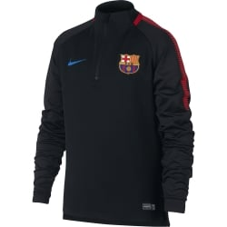 Barcelona Junior Squad Drill Top