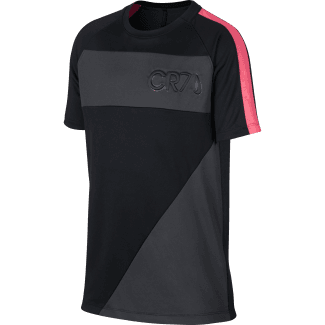 Boys CR7 Dry Academy Short Sleeve T-Shirt