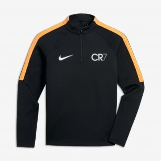 Boys CR7 Football Drill Top