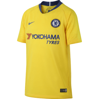 Chelsea Away Junior Short Sleeve Jersey 2018/2019