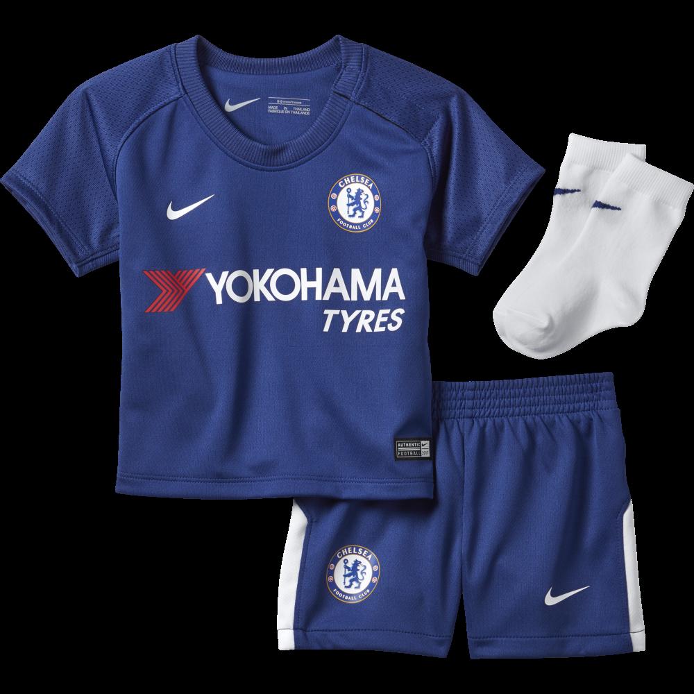 uk availability b50d0 972c9 Nike Chelsea Home Infant Kit 2017/2018