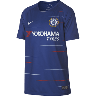Chelsea Home Junior Short Sleeve Jersey 2018/2019