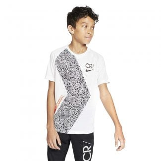 Dri-FIT Boys CR7 Short Sleeve T-Shirt