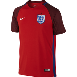 England Away Junior Short Sleeve Jersey 2016/2017