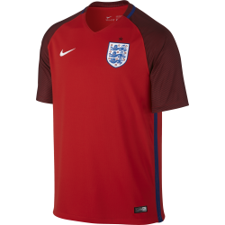 England Away Mens Short Sleeve Jersey 2016/2017