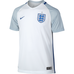 England Home Junior Short Sleeve Jersey 2016/2017