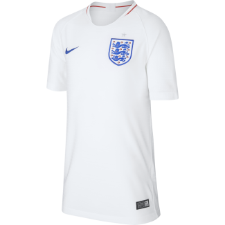 England Home Junior Short Sleeve Jersey 2018