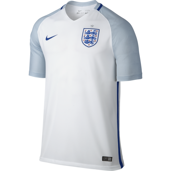 Nike England Home Mens Short Sleeve Jersey 2016/2017