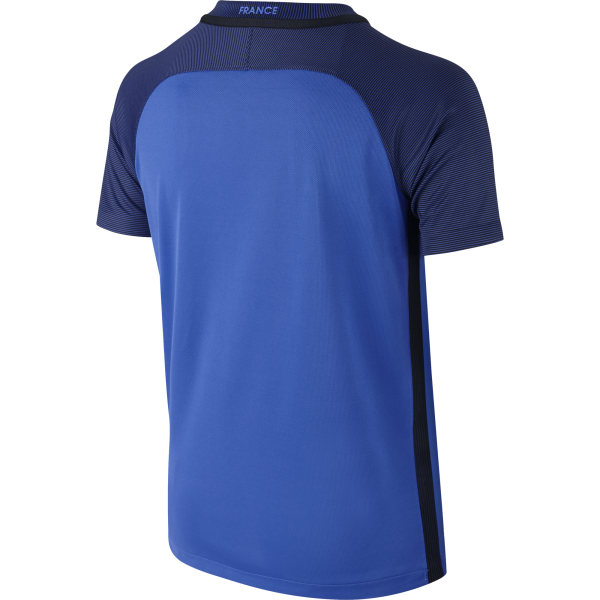 Nike France Home Junior Short Sleeve Jersey 2016/2017