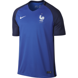 France Home Mens Short Sleeve Jersey 2016/2017