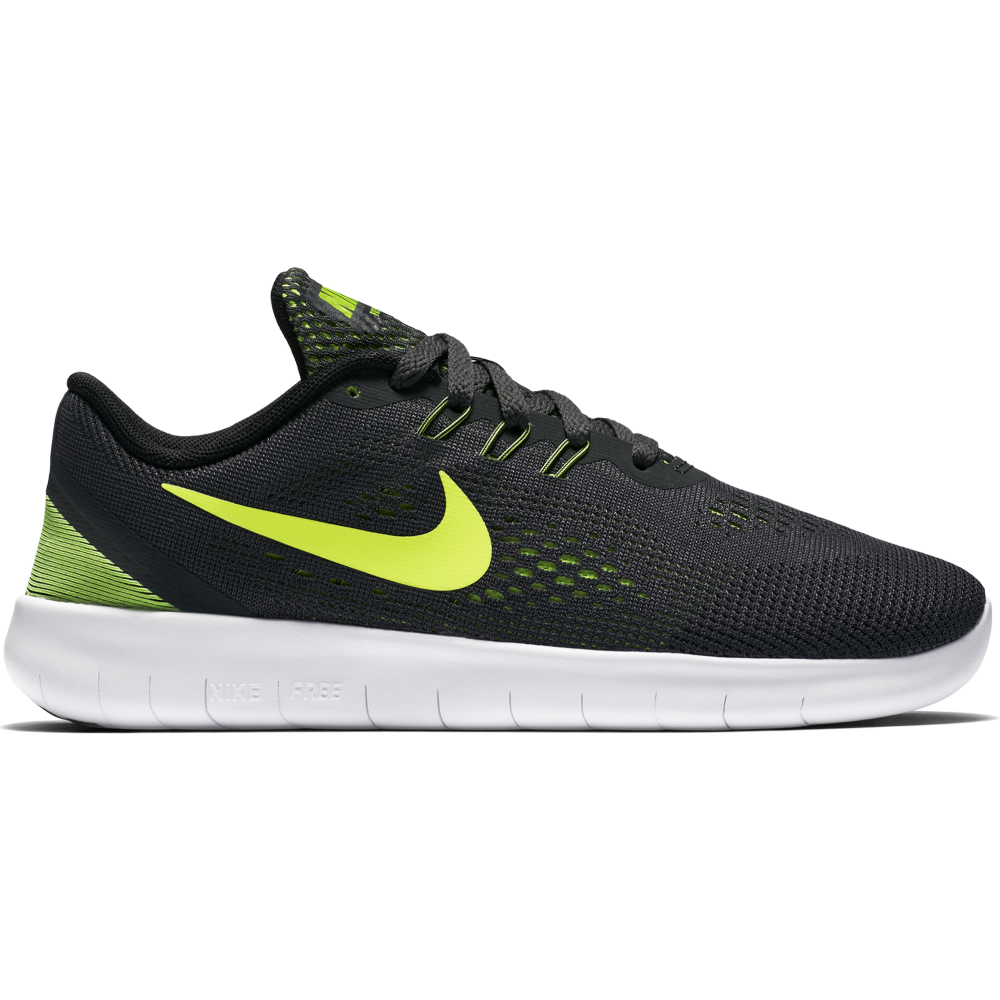 nike free boys 5 0 run sizes 3 5 5 in anthracite. Black Bedroom Furniture Sets. Home Design Ideas