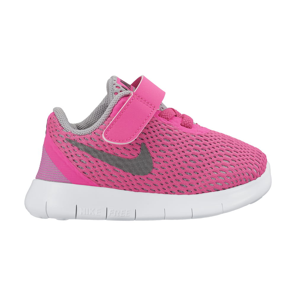sale retailer bd2f8 3bb94 Nike Free Girls 5.0 Toddler Velcro (sizes 1.5c-9.5c) in Pink   Excell  Sports UK