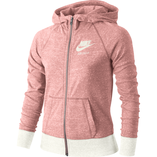 Nike Girls Gym Vintage Full-Zip Hoody
