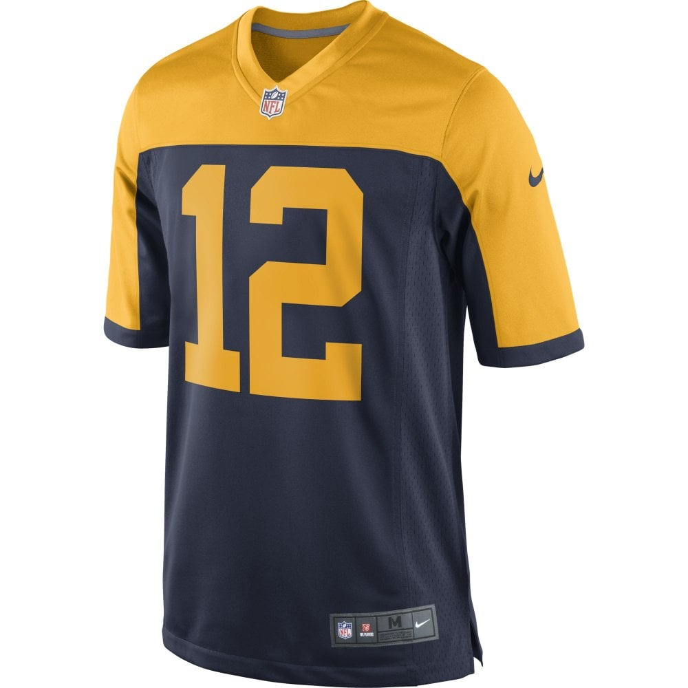 pretty nice 232ac 58fd1 Nike Green Bay Packers Alternate Rodgers Jersey
