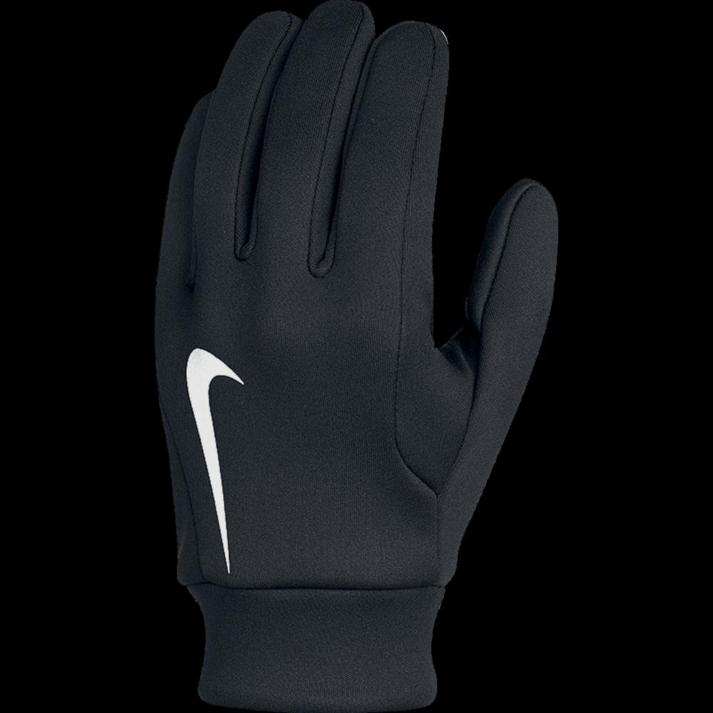 Nike Gloves Field Player: Nike Hyperwarm Field Player Gloves In Black/White