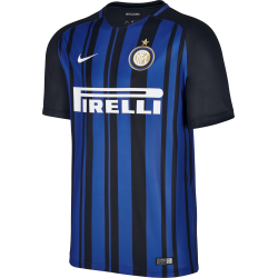Inter Milan Home Junior Short Sleeve Jersey 2017/2018