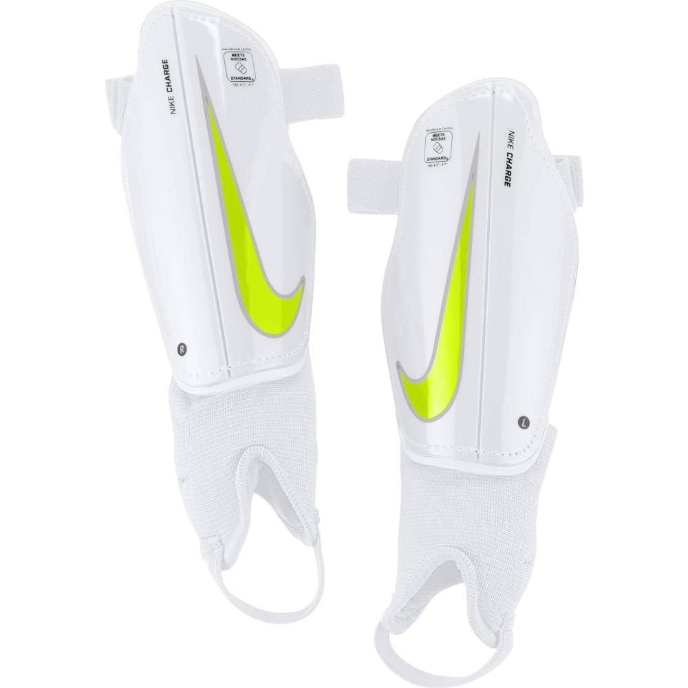 Nike Junior Charge 2.0 Shin Guards - Nike from Excell Sports UK 8a10a5eaeca6