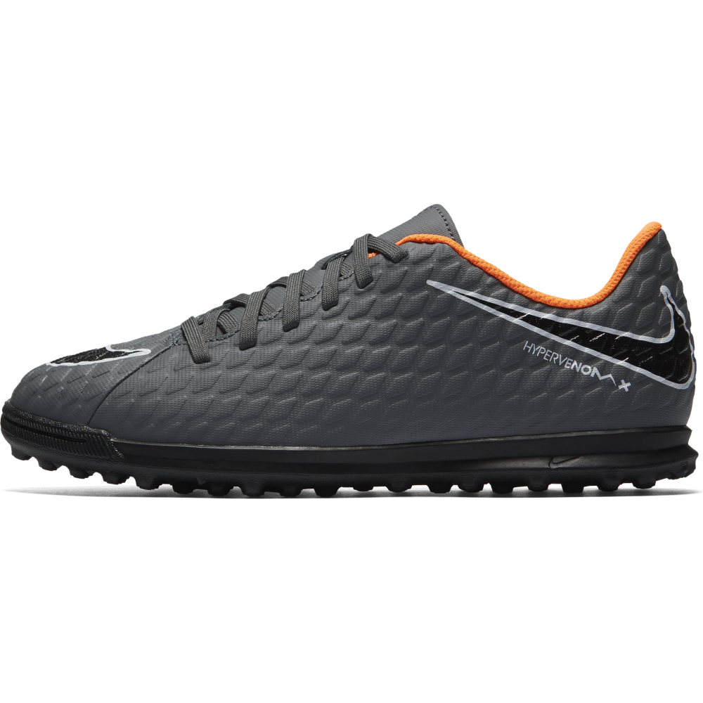 the best attitude 887a3 a0115 Nike Junior Hypervenom PhantomX III Club TF in Dark Grey ...