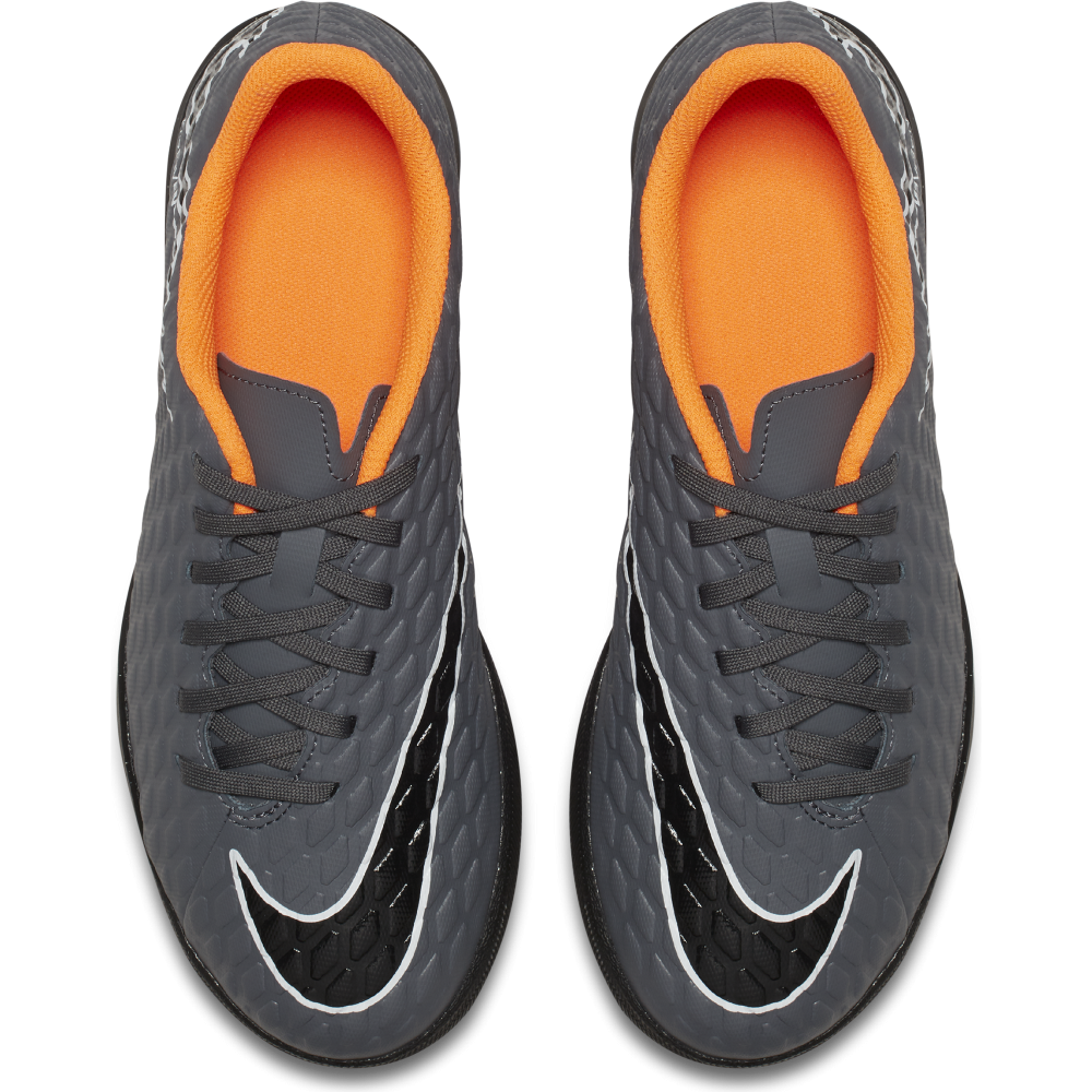 the best attitude 1b98b 7d46a Nike Junior Hypervenom PhantomX III Club TF in Dark Grey ...