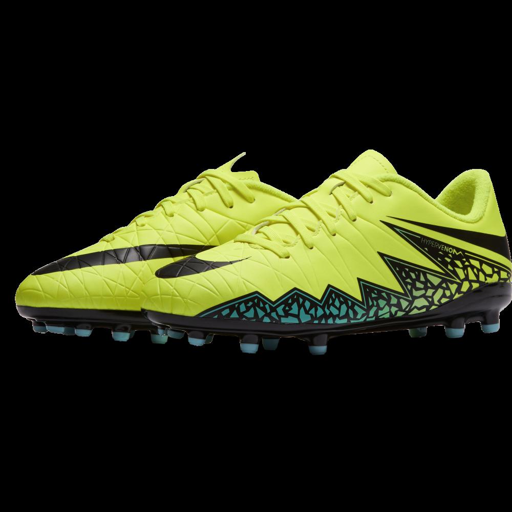 Nike Junior Hypervenom Phelon II FG in Volt | Excell Sports UK