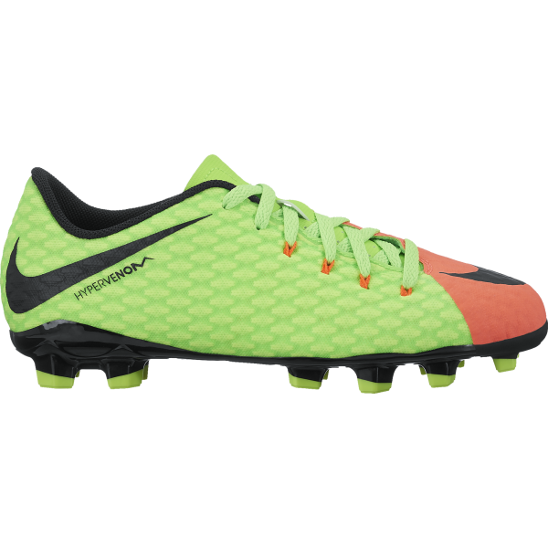 Nike Junior Hypervenom Phelon III FG (sizes 10c-2.5)