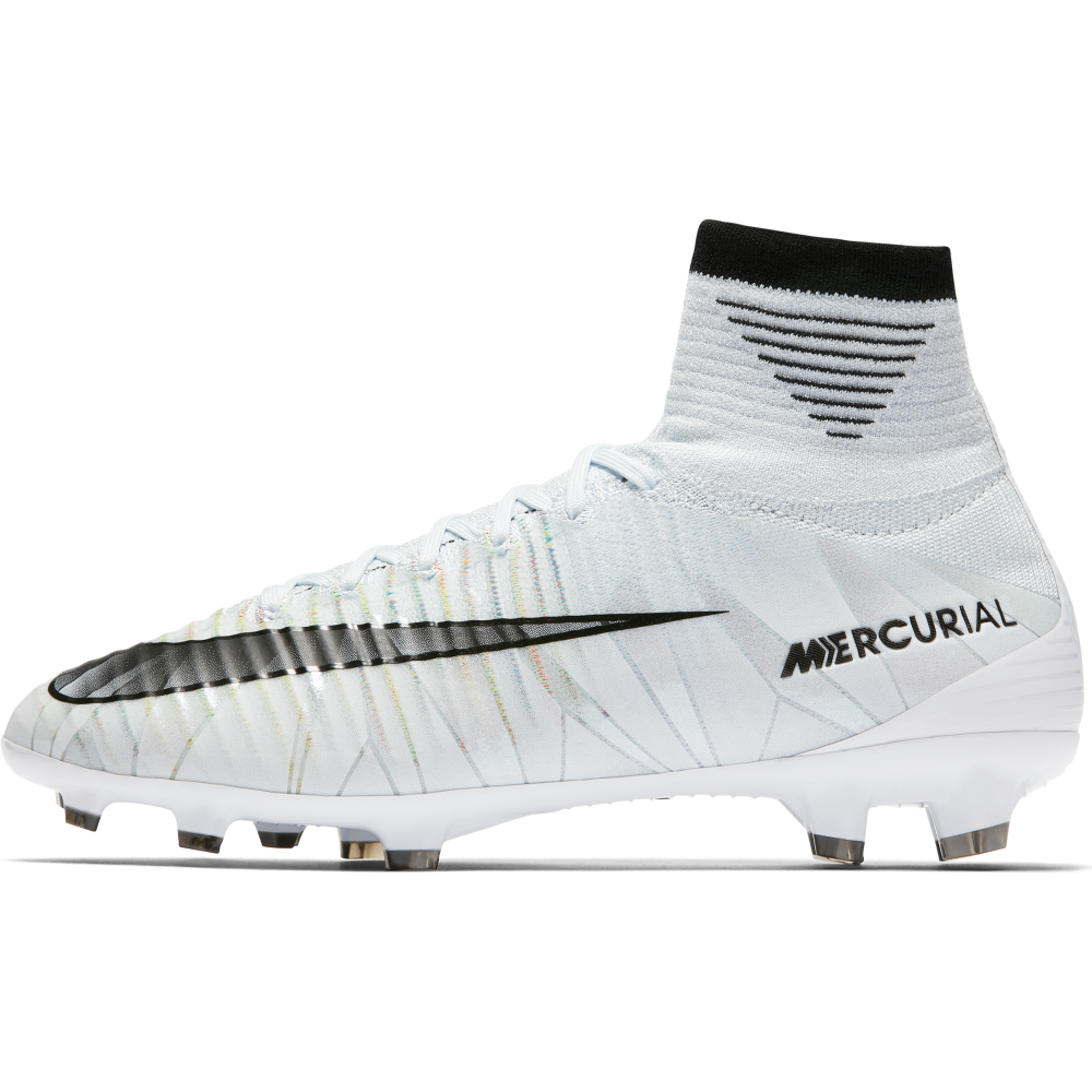 Nike Jr. Mercurial Superfly V CR7 Dynamic Fit FG (922586-401) Boy Football Boots Blue/Black/White