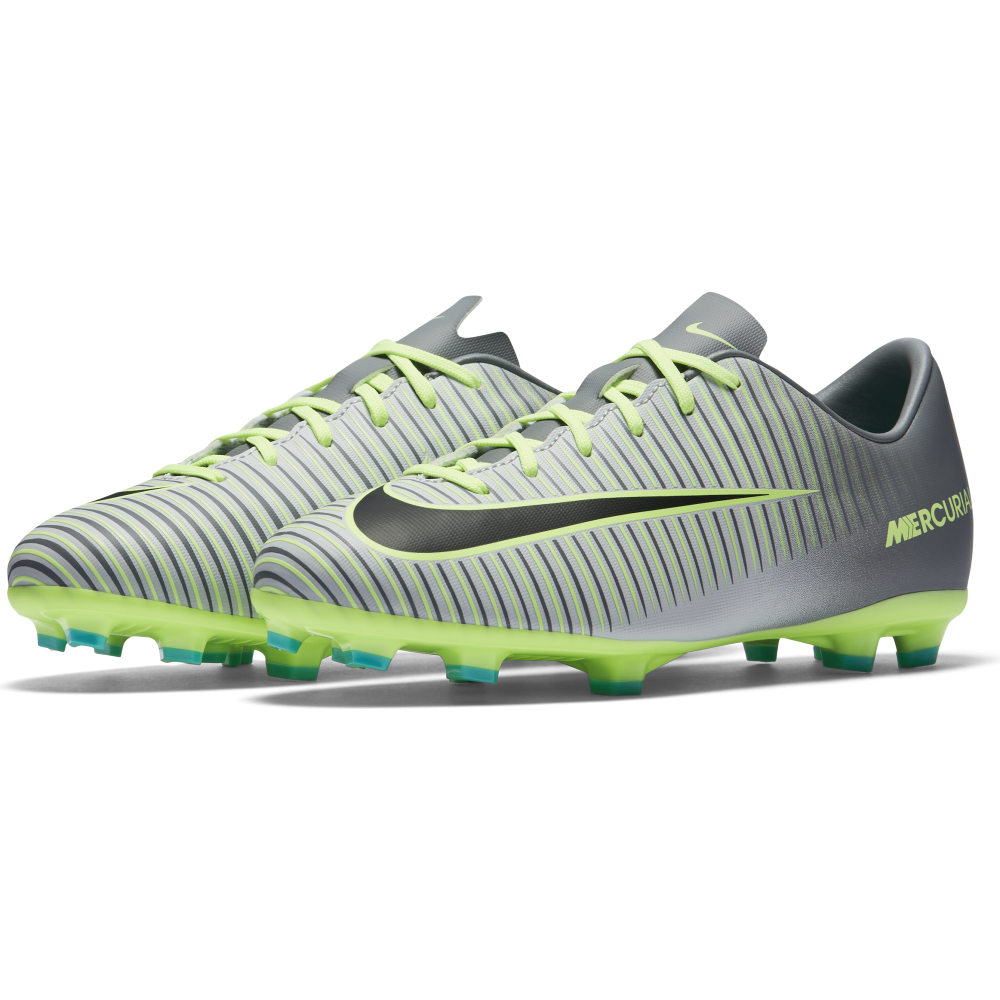 nike junior mercurial vapor xi fg in platinum excell sports uk. Black Bedroom Furniture Sets. Home Design Ideas