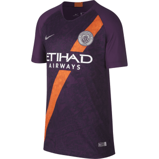 Manchester City 3rd Junior Short Sleeve Jersey 2018/2019