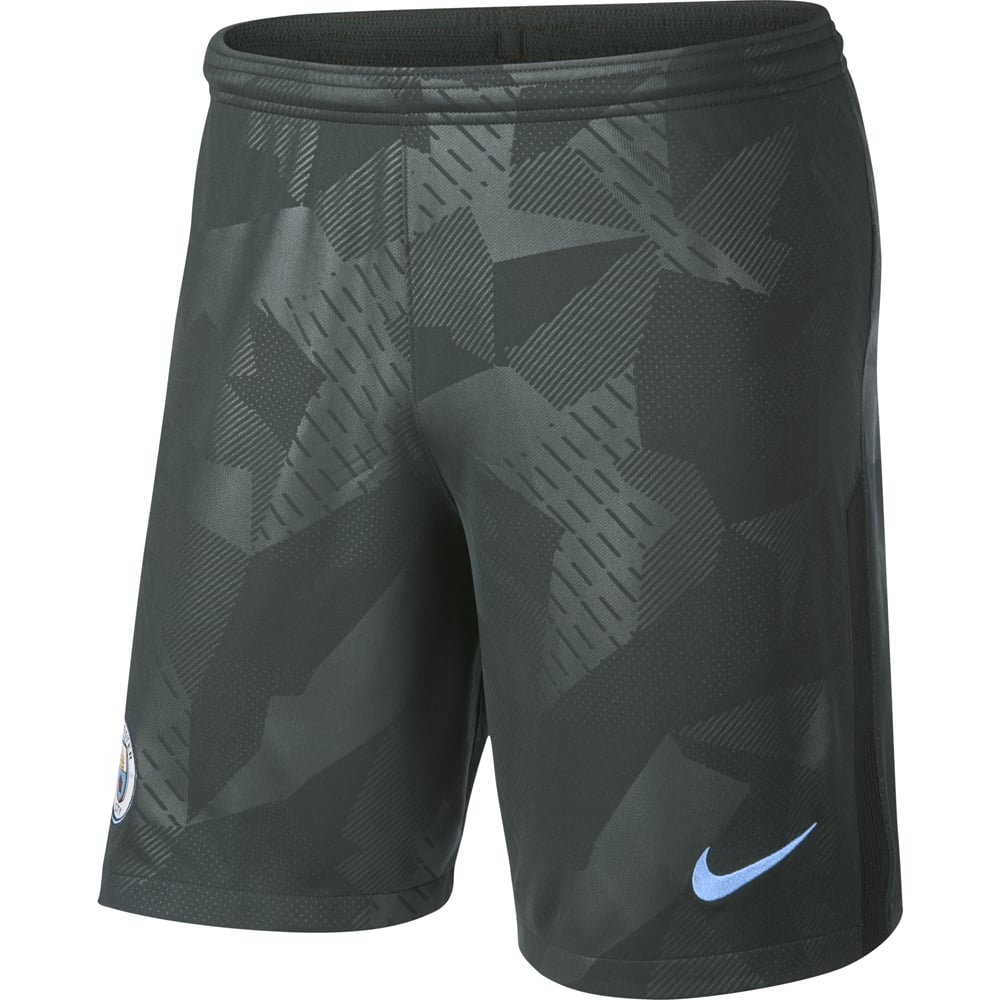 6ada984f Nike Manchester City 3rd Mens Short 2017/2018 in Green | Excell ...