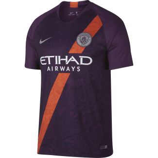 Manchester City 3rd Mens Short Sleeve Jersey 2018/2019