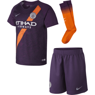 Manchester City 3rd Mini Kit 2018/2019