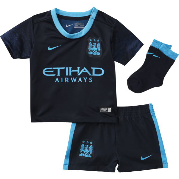 Nike Manchester City Away Infant Kit 2015/2016