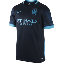 Manchester City Away Mens Short Sleeve Jersey 2015/2016