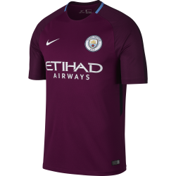Manchester City Away Mens Short Sleeve Jersey 2017/2018