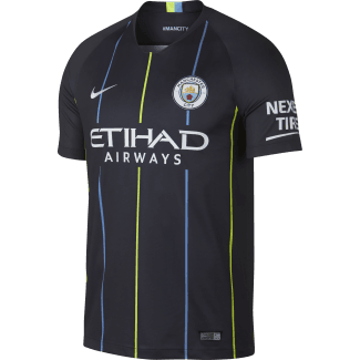 Manchester City Away Mens Short Sleeve Jersey 2018/2019