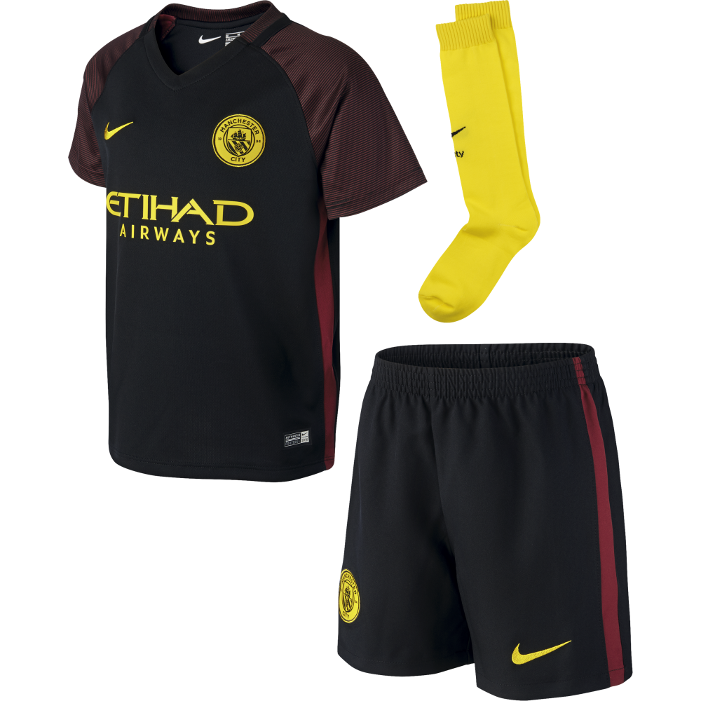 newest collection fdd15 f814a Nike Manchester City Away Mini Kit 2016/2017