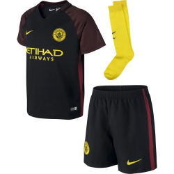 Manchester City Away Mini Kit 2016/2017