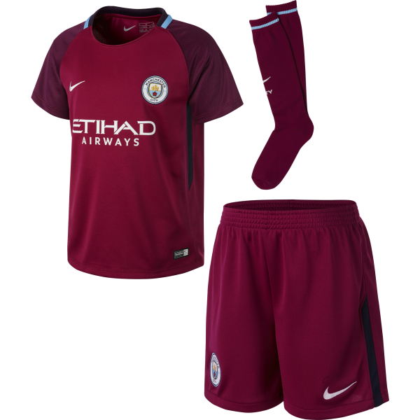 Nike Manchester City Away Mini Kit 2017/2018