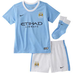 Manchester City Home Infant Kit 2015/2016