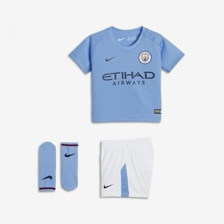 Manchester City Home Infant Kit 2017/2018