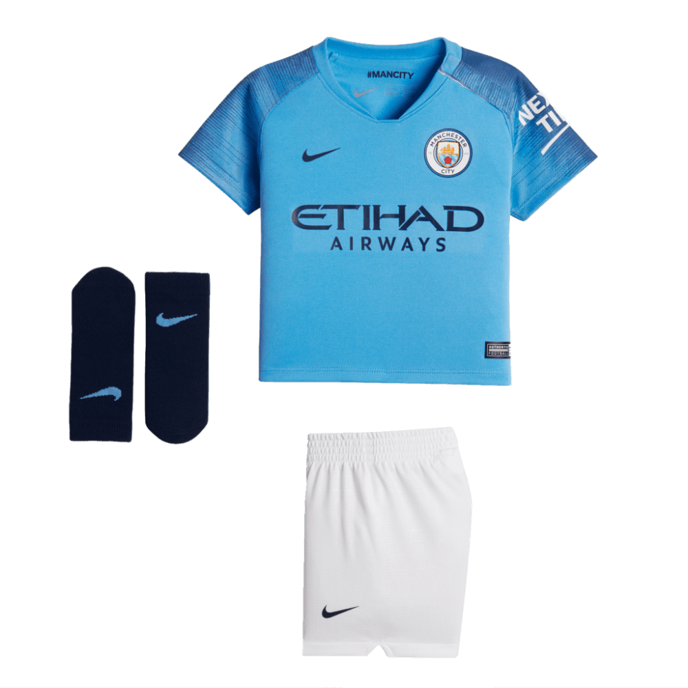 4125b830 Nike Manchester City Home Infant Kit 2018/2019 - Nike from Excell Sports UK