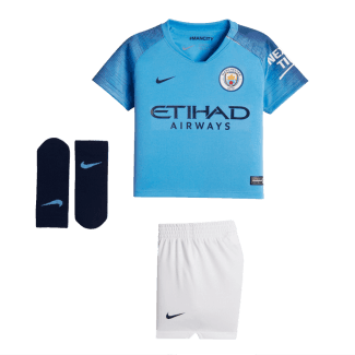 Manchester City Home Infant Kit 2018/2019
