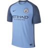 Nike Manchester City Home Junior Short Sleeve Jersey 2016/2017