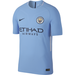 Manchester City Home Mens Match Short Sleeve Jersey 2017/2018
