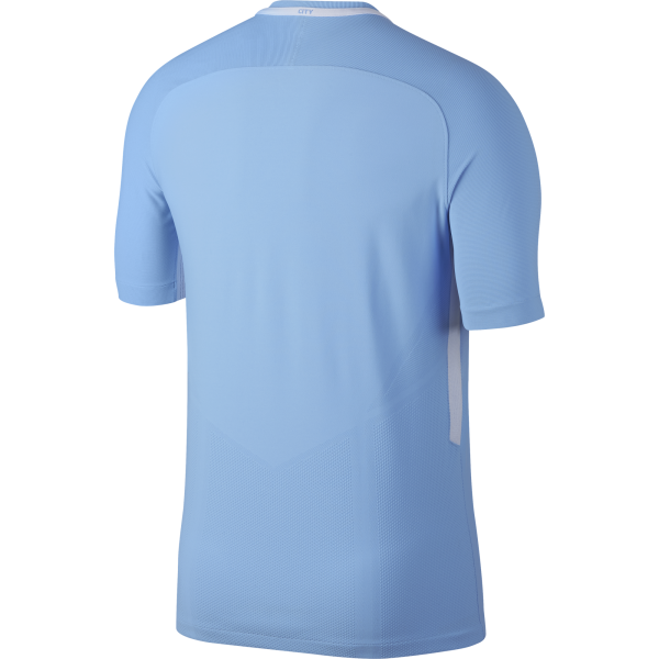 Nike Manchester City Home Mens Match Short Sleeve Jersey 2017/2018