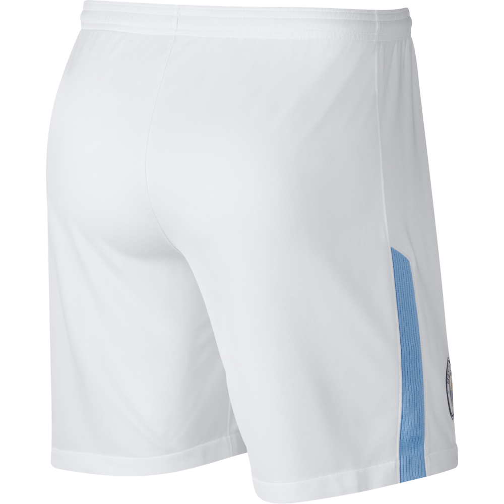 15e2a50b Nike Manchester City Home Mens Short 2017/2018 in White | Excell Sports UK