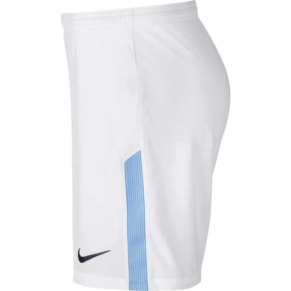 0381eafd Nike Manchester City Home Mens Short 2017/2018 in White | Excell ...