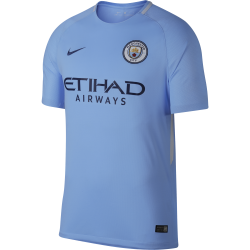 Manchester City Home Mens Short Sleeve Jersey 2017/2018