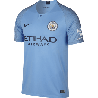 Manchester City Home Mens Short Sleeve Jersey 2018/2019